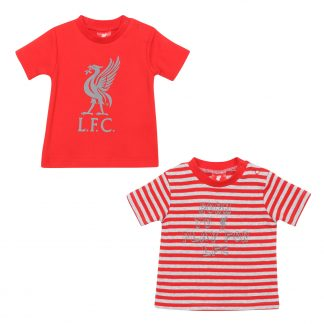 LFC Baby 2-Pack Tees Red/Grey