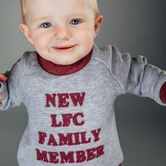 LFC Baby Grey Marl 'Family Member' Jog Set