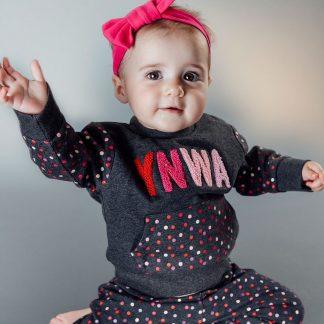 LFC Baby YNWA Charcoal Jumper
