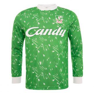 LFC Candy 89 - 91 Retro GK Shirt