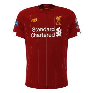 LFC Kids European Home Shirt 19/20 - UCL Gold