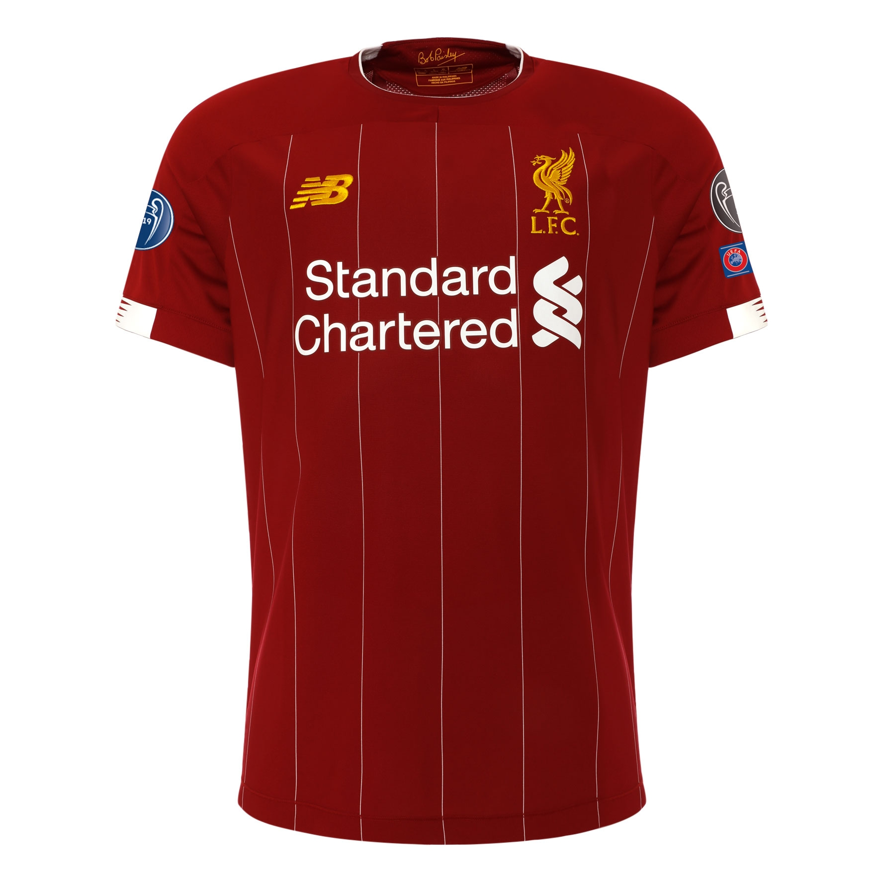 LFC Kids European Home Shirt 19/20 - UCL Gold