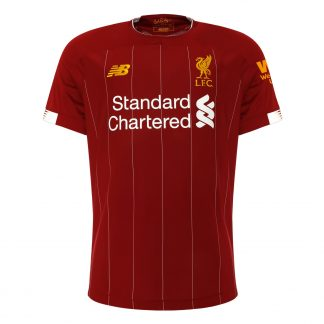 LFC Mens Home Shirt 19/20 - COE #6 Western Union