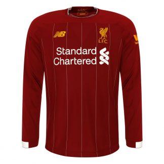 LFC Mens Long-Sleeve Home Shirt 19/20
