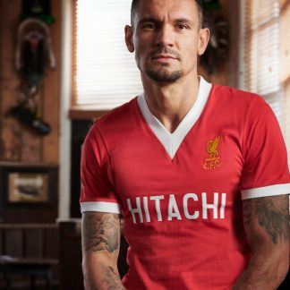 LFC Mens Retro 1978 Hitachi Home Shirt
