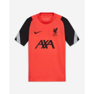 LFC Nike Junior Crimson Laser Strike Training Top