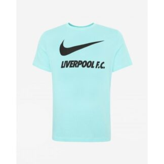 LFC Nike Junior Turquoise Training Ground Tee