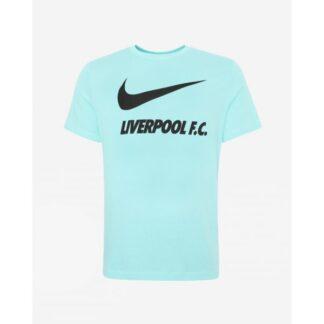 LFC Nike Junior Turquoise Training Ground Tee