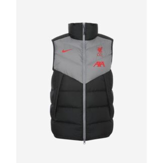 LFC Nike Mens Coaches Collection Black Down-Fill Vest