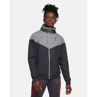 LFC Nike Mens Coaches Collection Black Windrunner Jacket