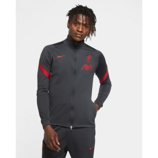 LFC Nike Mens Dark Grey Strike Training Top