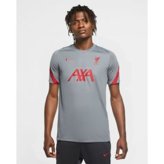 LFC Nike Mens Grey Strike Training Top