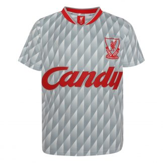 LFC Retro Junior Candy Away Shirt