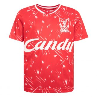 LFC Retro Junior Candy Home Shirt