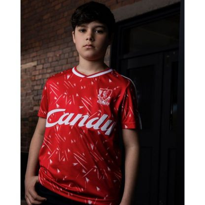 LFC Retro Junior Candy Home Shirt