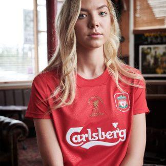 LFC Retro Womens 2005 Istanbul Shirt