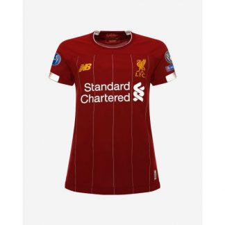 LFC Womens European Home Shirt 19/20