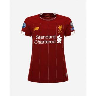 LFC Womens European Home Shirt 19/20