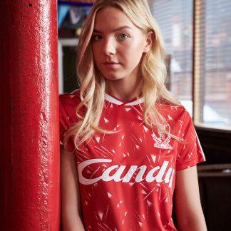 The LFC Retro Womens Candy Home Shirt